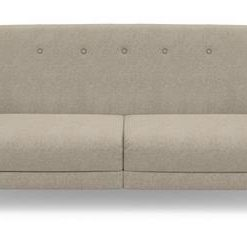 Clem 3 Seater Sofa Bed - Biscuit Beige