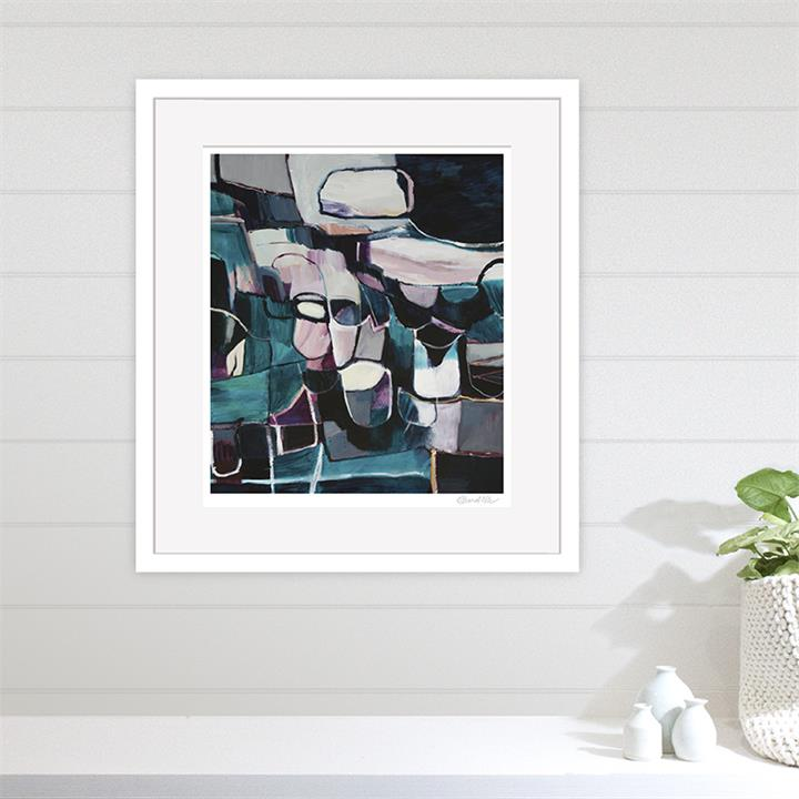 The Pottery Class | Unframed Print by Diana Miller