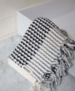 Organic Cotton Hand Towel | Monochrome