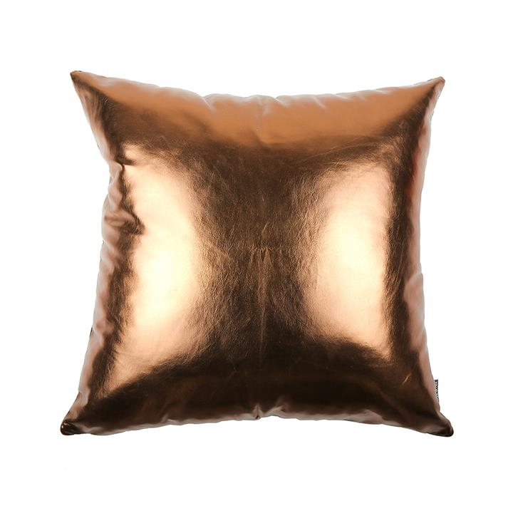 Copperfield Metallic Cushion