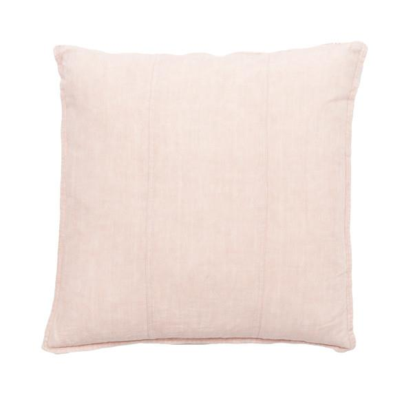 Luca Linen Cushion | Soft Pink