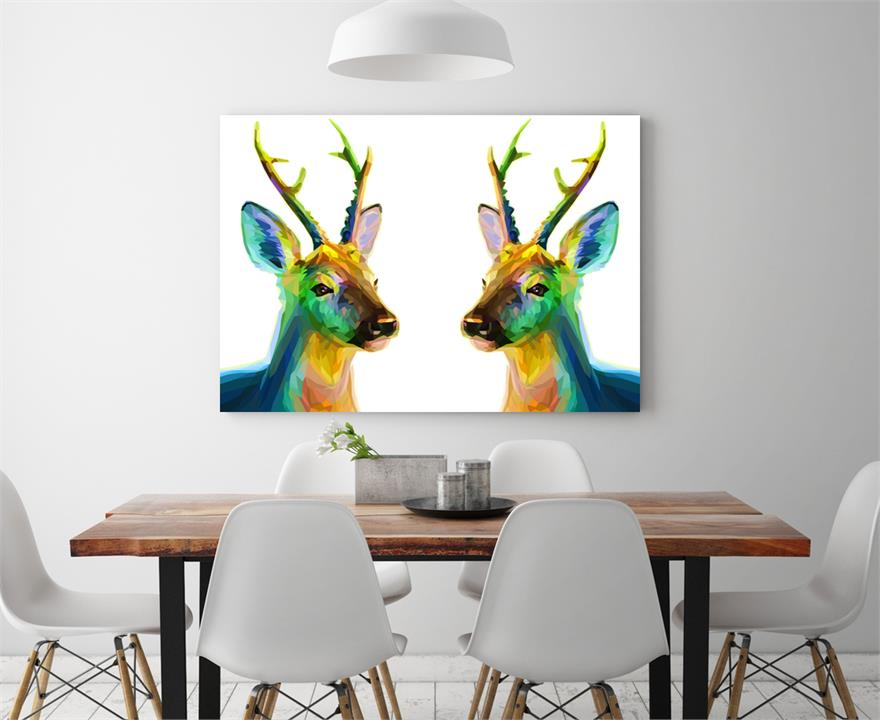 Deer Lovely | Canvas Art