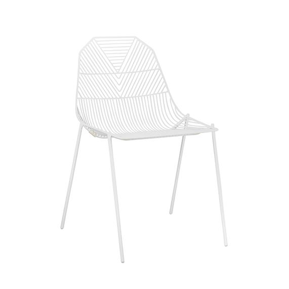 New Arrow Chair | Black or White