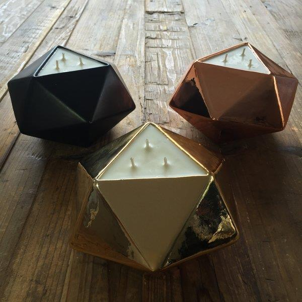 Triangle Tea Light Candle