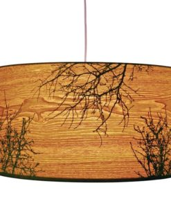 Autumn Big Drum Pendant Light