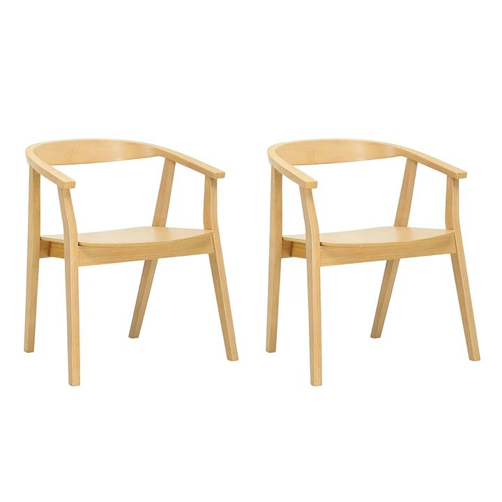 Gayle Natural Dining Chair (Set of 2)