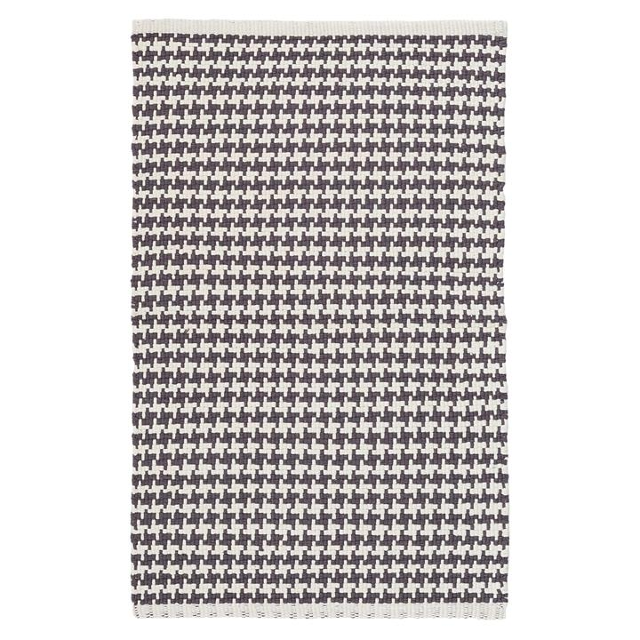 Checks Cotton Weave Modern Rug