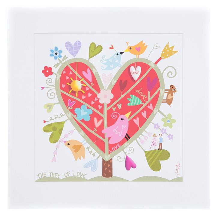 Marja Leena Tree Of Love Wall Art