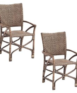 Wicker Countess Armchair (Set of 2)