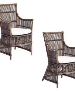 Wicker Duchess Armchair (Set of 2)