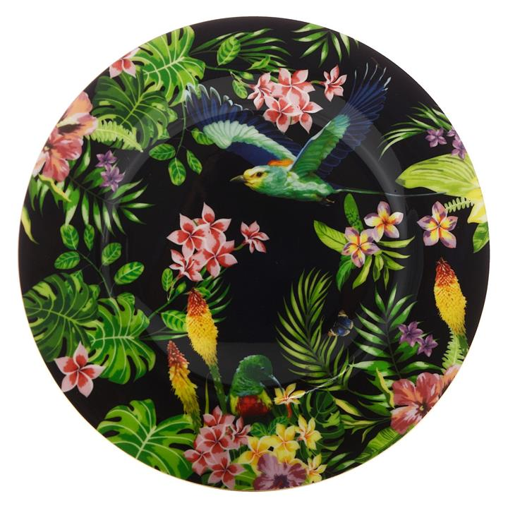 Cashmere Birds of Paradise Plate