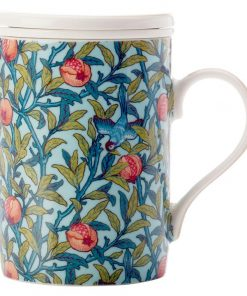 William Morris Bird & Pomegranate Infuser Mug