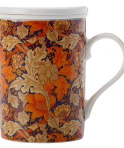 William Morris Acanthus Infuser Mug