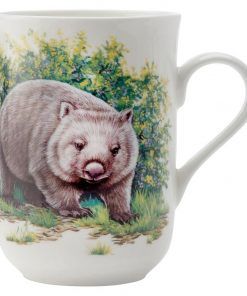 Cashmere Animals of Australia Wombat Mug