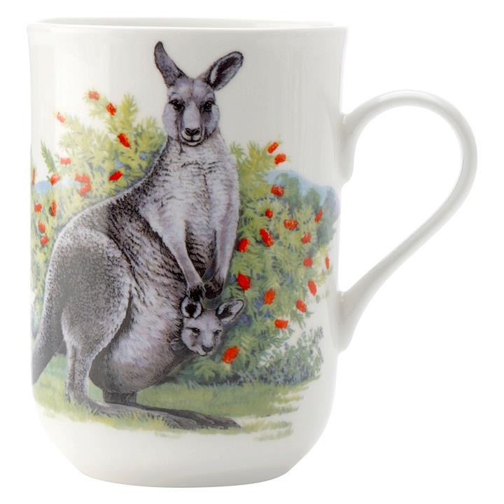 Cashmere Animals of Australia Kangaroo Mug