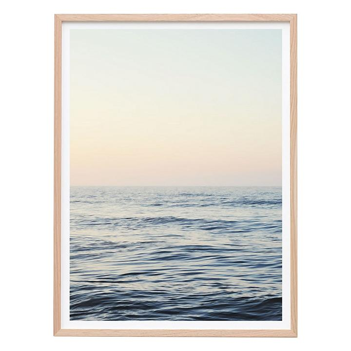 Calm Ocean Framed Print