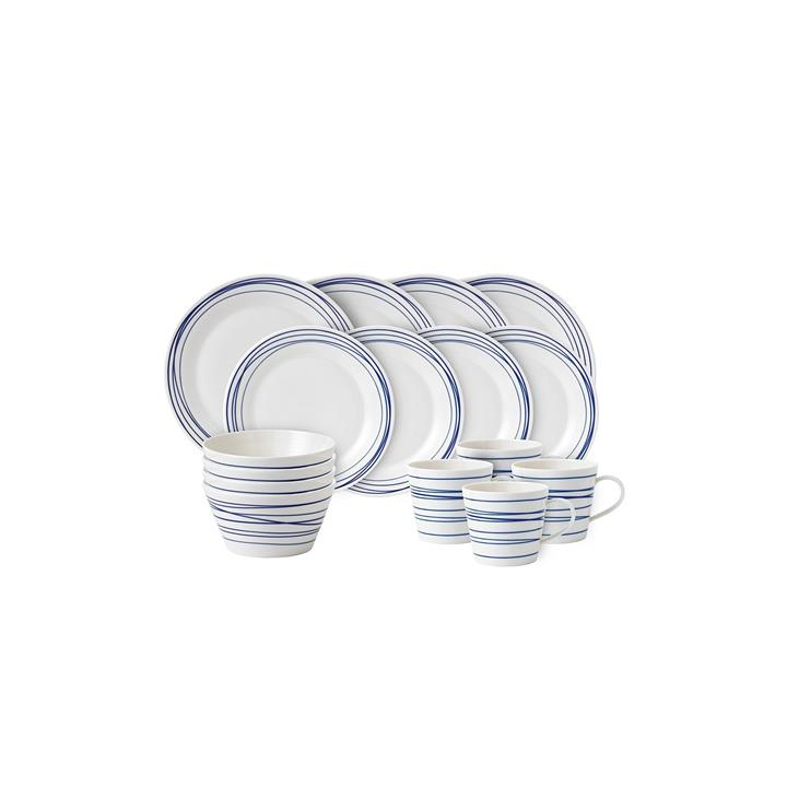 Pacific Lines 16-Piece Dinner Set