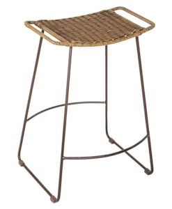 Surya Rattan Bar Stool