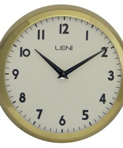 Metallic School Wall Clock