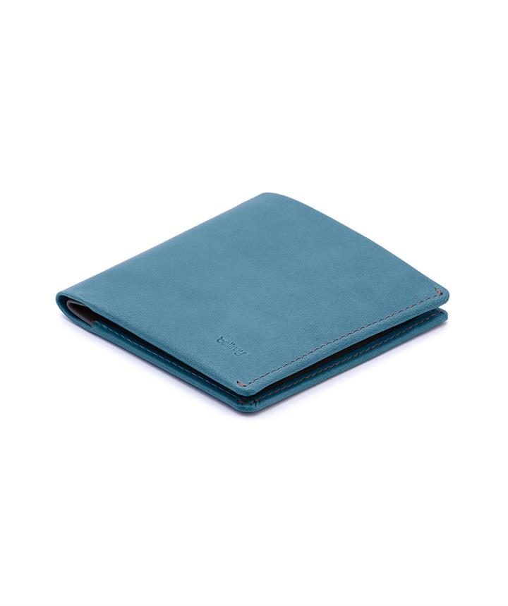 Note Sleeve Leather Wallet Teal