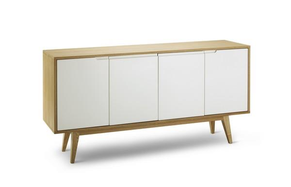 Marc Scandinavian Sideboard Buffet Unit - Natural