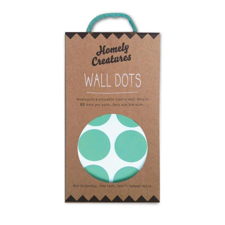 Wall Decal Dots | Removal & Resusable | Mint