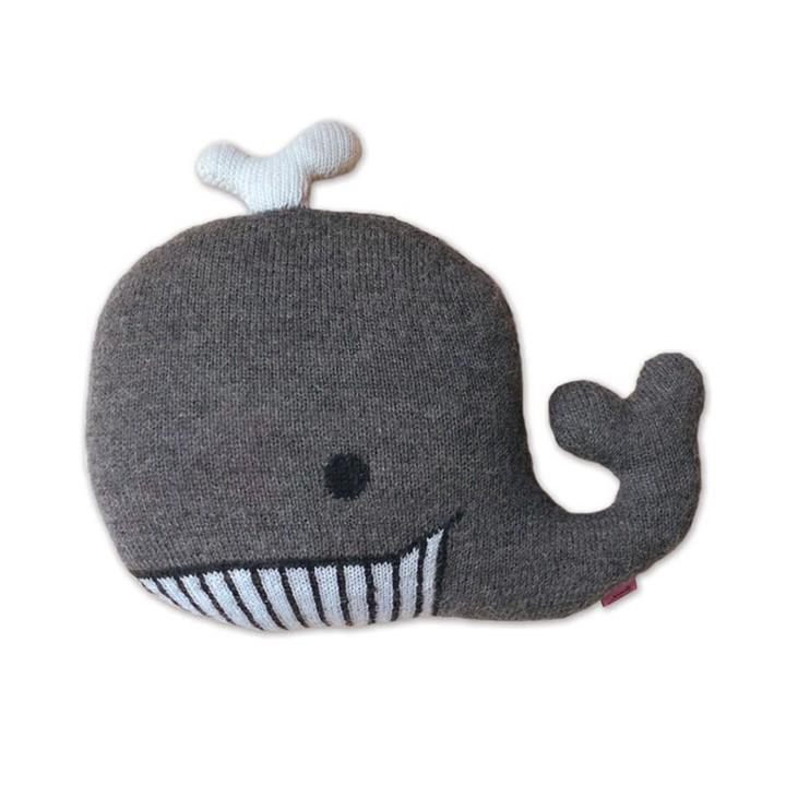 Knitted Whale Creature