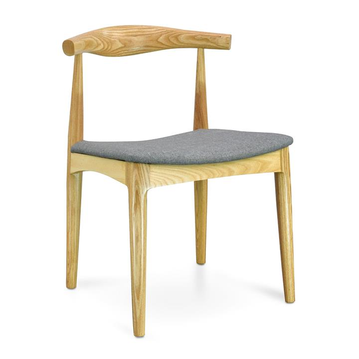 CH20 Elbow Dining Chair - Hans Wegner Replica- Natural with Light...