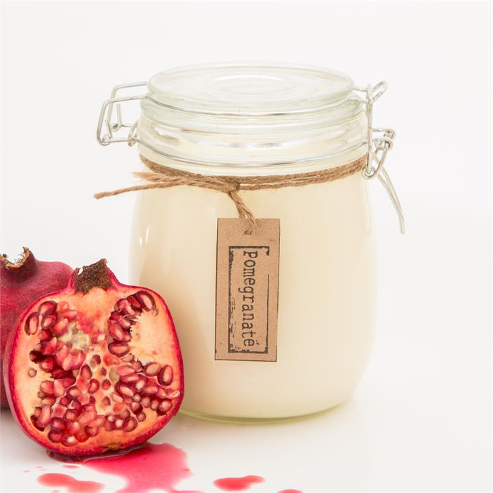 Pomegranate Soy Candle | Various Sizes