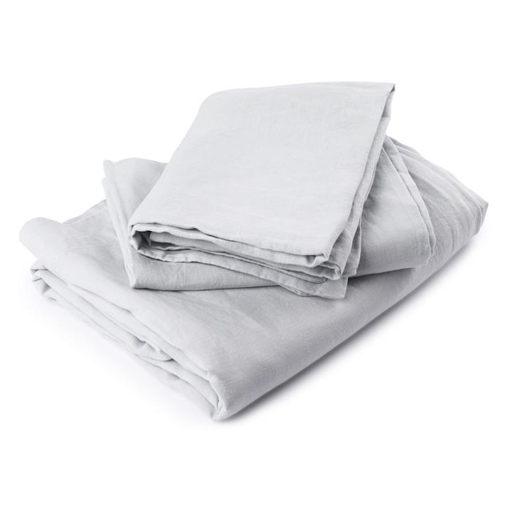 Fog French Pure French Linen Sheet Set