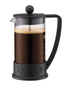 Bodum Brazil French Press Coffee Maker 8 Cup 1.0 Litre Black