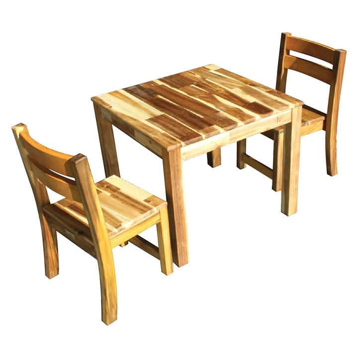 Kid's Square Table & Chairs