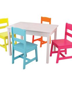 Highlighter Table and 4 Chairs