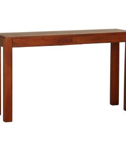 Hague Pecan 2 Drawer Console Table