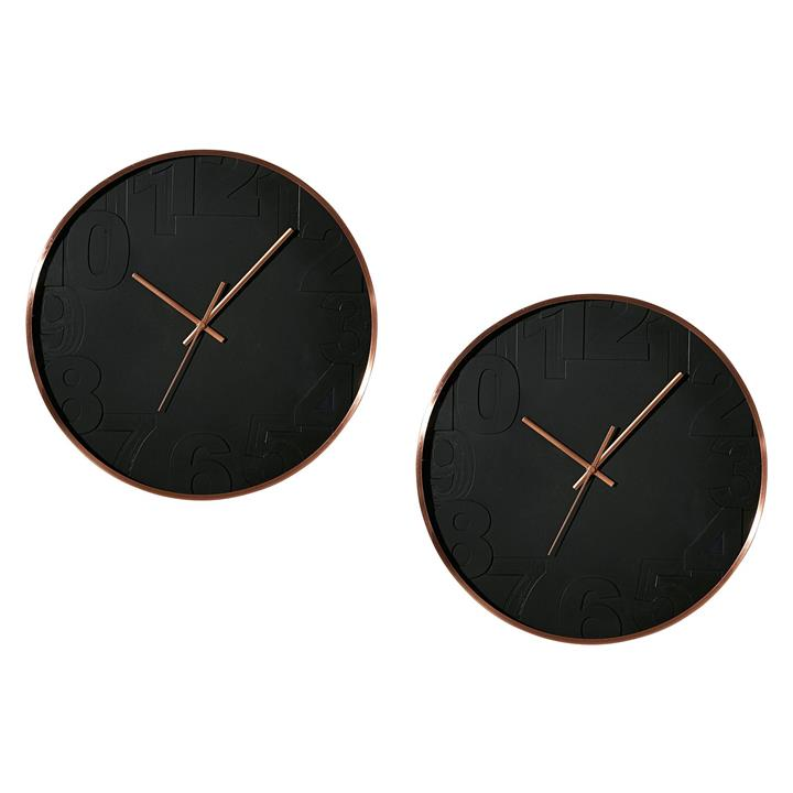 Balaclava Metal Frame Wall Clock