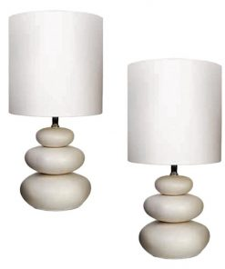 Pebble Table Lamp (Set of 2)
