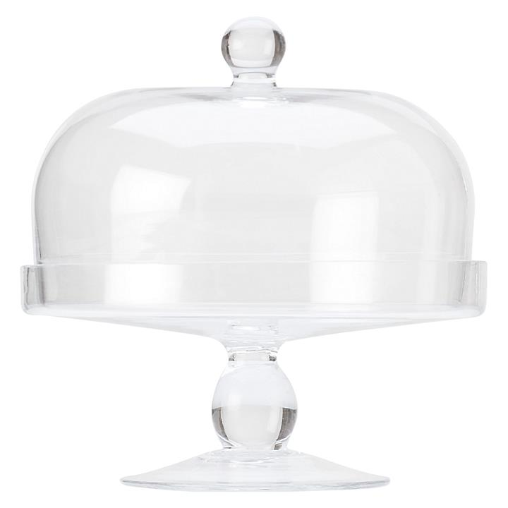 Diamante Cake Stand with Dome