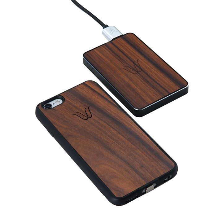 Woodie Rosewood Wireless 2-Piece Charging Pack