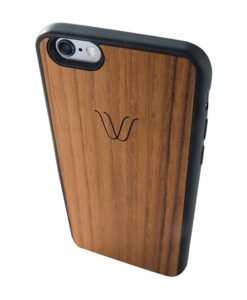 Woodie Teak Wireless Charging Phone Cover