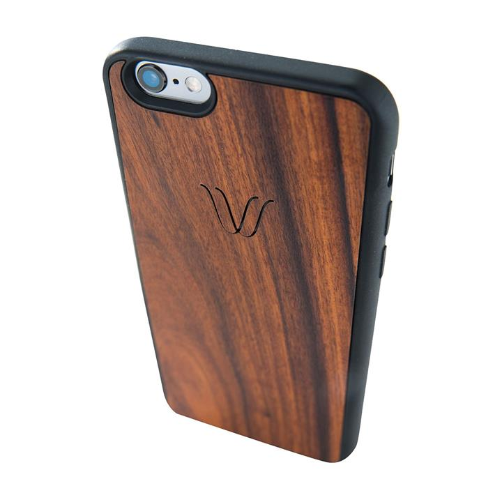 Woodie Rosewood Wireless Charging Phone Cover