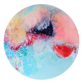 Frosted Berry | Acrylic Art