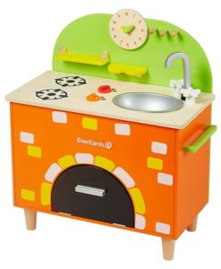 Play Kitchen with Brick Oven