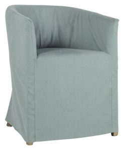 Sara Azure Dining Chair
