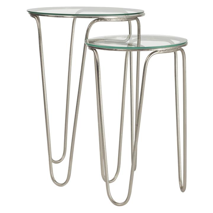 Nickie Round Side Table (Set of 2)