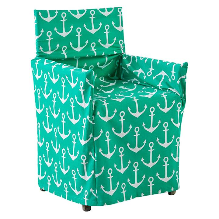 Anchors Aweigh Outdoor Directors Chair Cover