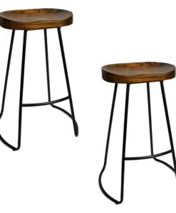 Cedro Tractor Bar Stool (Set of 2)