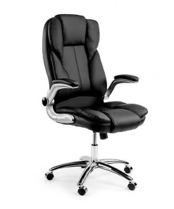 Black Faux Leather Executive Premium Office Chair