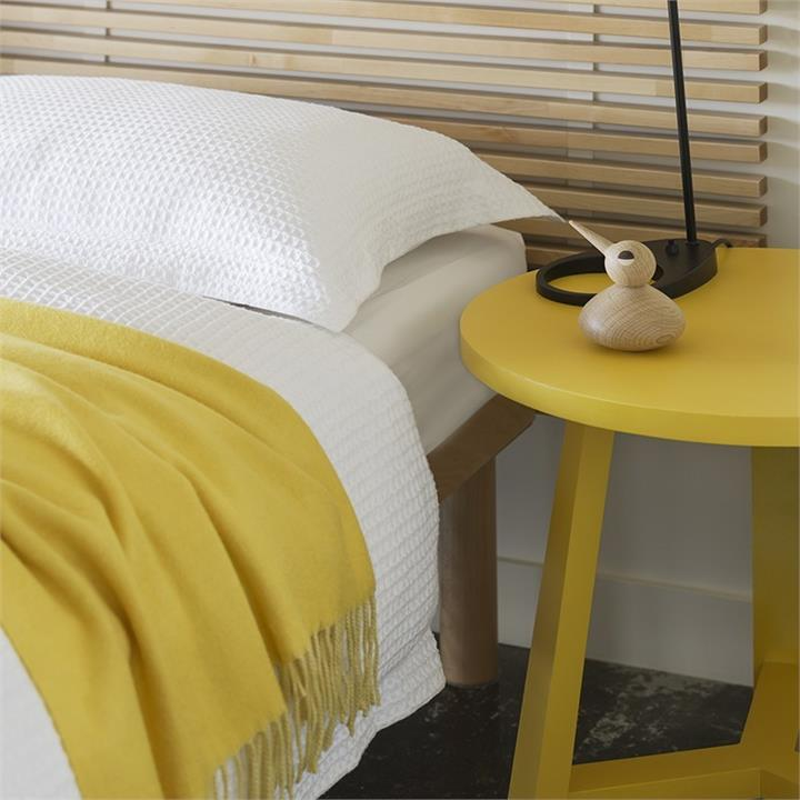 River Cotton Waffle Bed Linen