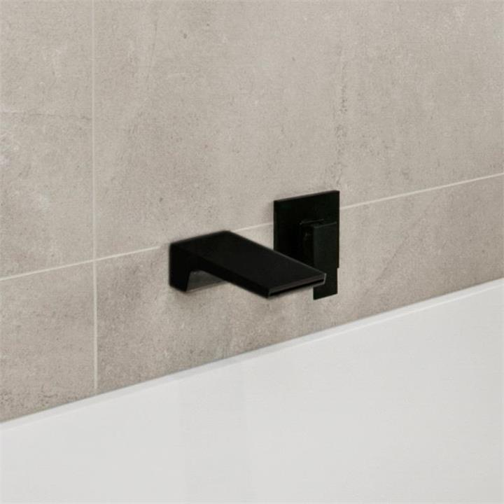 Matte Black Waterfall Spout Tap