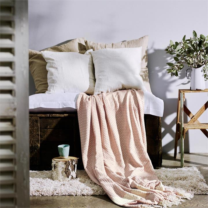 Florence Throw Blanket | Various Colours